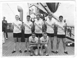 John Sinibaldi and team mates